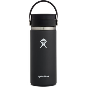 Hydro Flask Coffee Bidón con Tapa Sorbo Flex 473 ml, negro